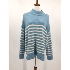 Lou & Grey Striped Sweater Pastel Pullover